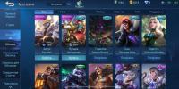 Аккаунт Mobile Legends много элитных обликов